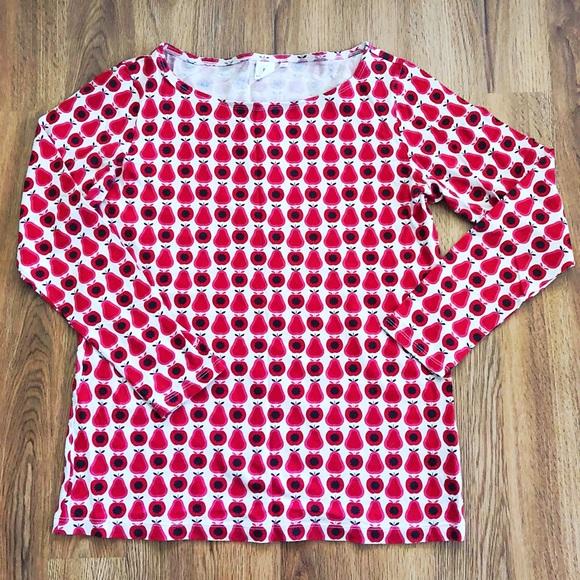 1f708132021dbf Orla Kiely Tops | Uniqlo Pear Shirt Xl | Poshmark